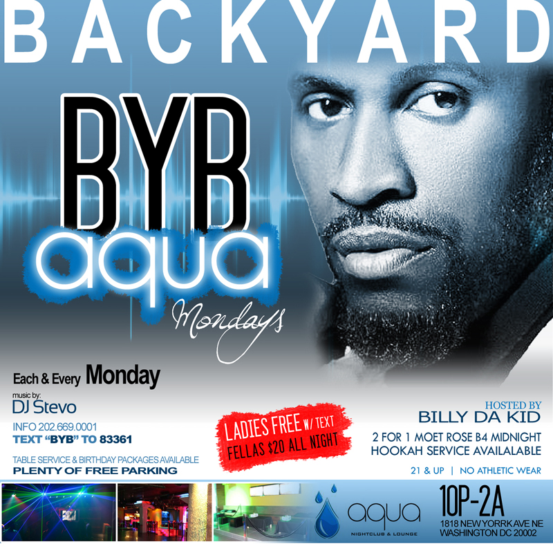 Backyard | Aqua | Mondays @ Aqua | Washington | District of Columbia | United States