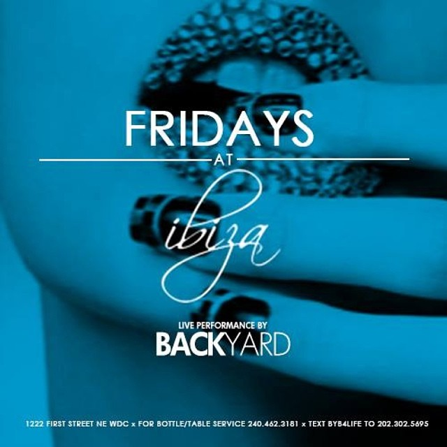 Backyard | Ibiza | Fridays @ Ibiza | Washington | District of Columbia | United States