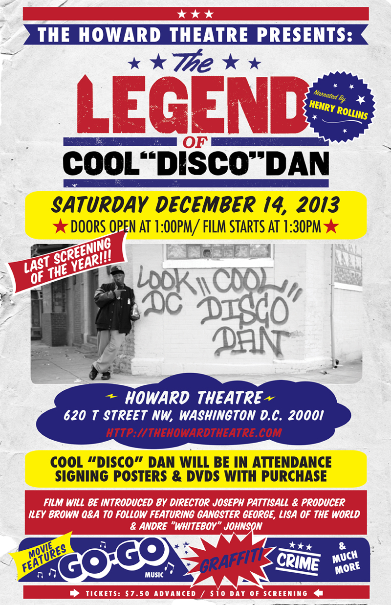 "Howard Theatre | The Legend of Cool ""Disco"" Dan 