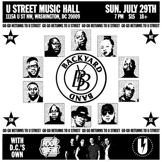 Backyard Band Dc backyard band   go-go returns to u street   july 29 – tmottgogo